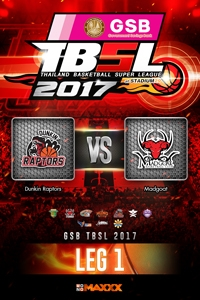 หนัง LEG 1 Dunkin Raptors VS Madgoat
